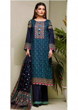 Ittehad Textiles Printed Lawn Unstitched 3 Piece Suit ITD20MS 021B - Summer Collection