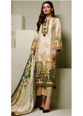 Ittehad Textiles Printed Lawn Unstitched 3 Piece Suit ITD20MS 023A - Summer Collection