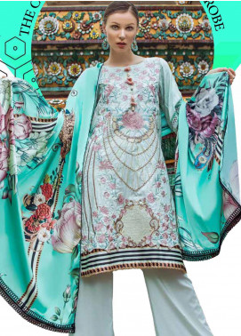 Ittehad Textiles Embroidered Linen Unstitched 3 Piece Suit ITD19RW COASTAL LOFT - Winter Collection