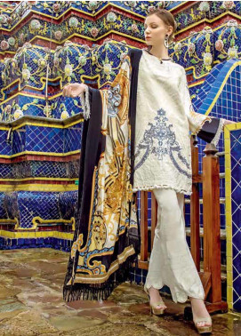 Ittehad Textiles Embroidered Linen Unstitched 3 Piece Suit ITD19RW MERIQUEEN - Winter Collection
