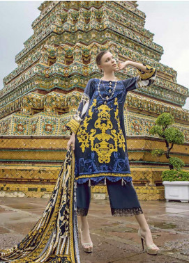Ittehad Textiles Embroidered Linen Unstitched 3 Piece Suit ITD19RW ROYAL OPERA - Winter Collection