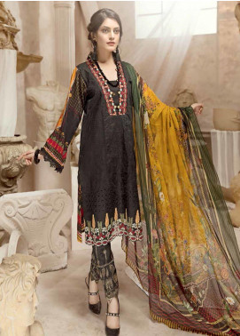Ittehad Textiles Embroidered Viscose Unstitched 3 Piece Suit ITD19W ZARENI - Winter Collection