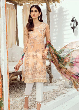Iznik Chinon Embroidered Lawn Unstitched 3 Piece Suit IZC19-L3 07 SUNDRESS - Mid Summer Collection