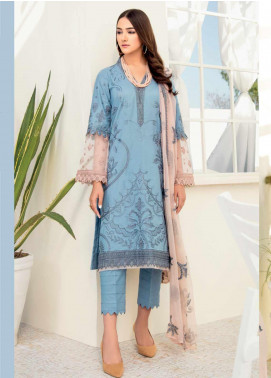 Iznik Embroidered Lawn Unstitched 3 Piece Suit IZ20C 08 Pool Side - Summer Collection