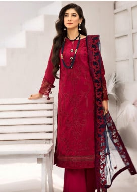 Iznik Embroidered Lawn Unstitched 3 Piece Suit IZ20FL 07 YAQOOT - Festive Collection