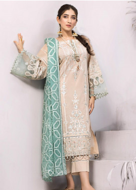Iznik Embroidered Lawn Unstitched 3 Piece Suit IZ20FL 09 DUR E NAJAF - Festive Collection