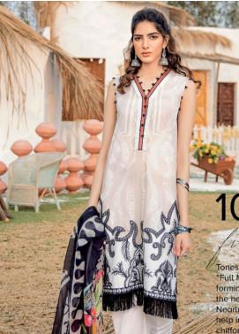 Iznik Embroidered Lawn Unstitched 3 Piece Suit IZ20GL 10 - Summer Collection