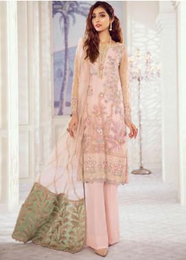 Iznik Embroidered Chiffon Unstitched 3 Piece Suit IZ20ID 6 - Luxury Collection