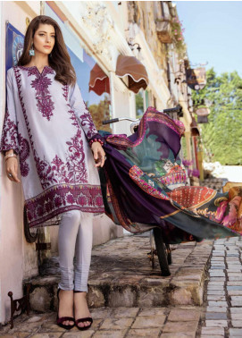 Iznik Embroidered Jacquard Unstitched 3 Piece Suit IZ20L 10 - Luxury Collection