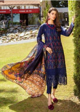Iznik Embroidered Lawn Unstitched 3 Piece Suit IZ20L 12 - Luxury Collection