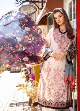 Iznik Embroidered Lawn Unstitched 3 Piece Suit IZ20L 5 - Luxury Collection