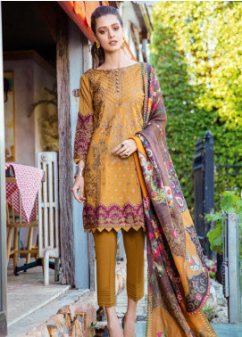Iznik Embroidered Lawn Unstitched 3 Piece Suit IZ20L 6 - Luxury Collection