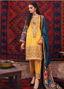 Zarsa by Iznik Embroidered Viscose Unstitched 3 Piece Suit IZ20ZW 12 Ara - Winter Collection