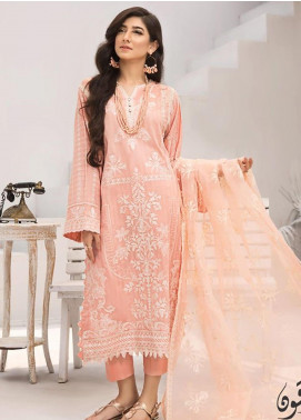Iznik Embroidered Jacquard Unstitched 3 Piece Suit IZ20FL 01 MOTI - Festive Collection