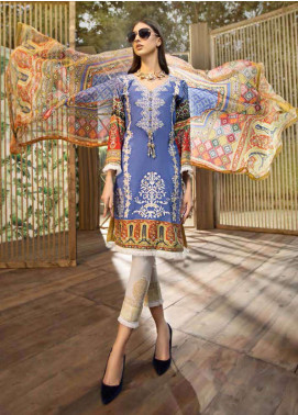 Jahanara Embroidered Lawn Unstitched 3 Piece Suit JN19L 02 - Spring / Summer Collection