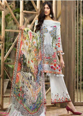 Jahanara Embroidered Lawn Unstitched 3 Piece Suit JN19L 05 - Spring / Summer Collection