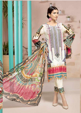 Jahanara Embroidered Lawn Unstitched 3 Piece Suit JN20SS 01 - Spring / Summer Collection
