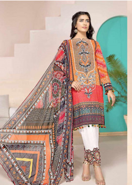 Jahanara Embroidered Lawn Unstitched 3 Piece Suit JN20SS 04 - Spring / Summer Collection