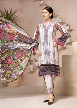 Jahanara Embroidered Lawn Unstitched 3 Piece Suit JN20SS 05 - Spring / Summer Collection