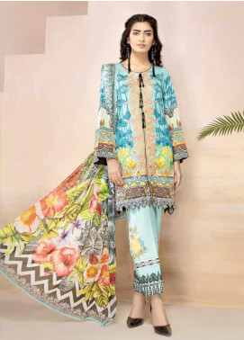 Jahanara Embroidered Lawn Unstitched 3 Piece Suit JN20SS 06 - Spring / Summer Collection