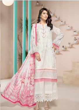 Jahanara Embroidered Lawn Unstitched 3 Piece Suit JN20SS 07 - Spring / Summer Collection
