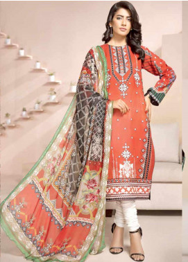 Jahanara Embroidered Lawn Unstitched 3 Piece Suit JN20SS 08 - Spring / Summer Collection