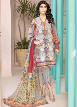Jahanara Embroidered Lawn Unstitched 3 Piece Suit JN20SS 09 - Spring / Summer Collection