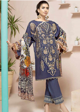 Jahanara Embroidered Lawn Unstitched 3 Piece Suit JN20SS 10 - Spring / Summer Collection