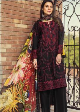 Janiya by Resham Ghar Embroidered Silk Unstitched 3 Piece Suit JRG20DS 01 - Winter Collection