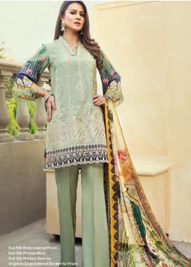 Janiya by Resham Ghar Embroidered Silk Unstitched 3 Piece Suit JRG20DS 02 - Winter Collection