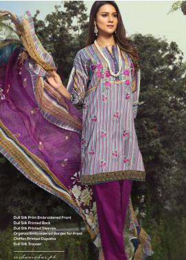 Janiya by Resham Ghar Embroidered Silk Unstitched 3 Piece Suit JRG20DS 04 - Winter Collection