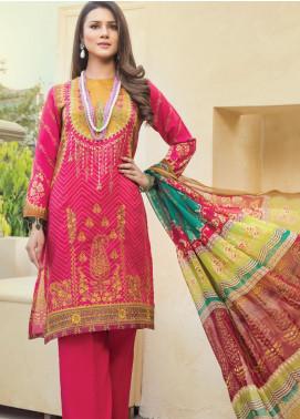 Janiya by Resham Ghar Embroidered Silk Unstitched 3 Piece Suit JRG20DS 06 - Winter Collection