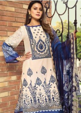 Janiya by Resham Ghar Embroidered Silk Unstitched 3 Piece Suit JRG20DS 07 - Winter Collection