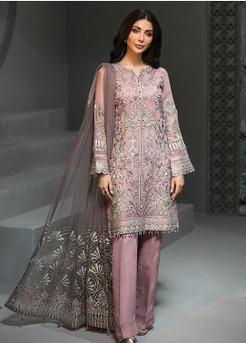 Tena Durrani Embroidered Chiffon Luxury Formal Collection 11 Rosemary 2019