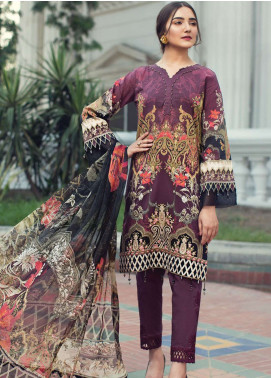 Jazmin Embroidered Lawn Unstitched 3 Piece Suit JIR19L 04 CIARA EVE - Spring / Summer Collection