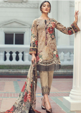 Jazmin Embroidered Lawn Unstitched 3 Piece Suit JIR19L 06 ALMA FLEUR - Spring / Summer Collection