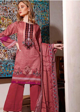 Jhalak by Ittehad Textiles Printed Lawn Unstitched 3 Piece Suit IT20J 1515 A - Spring / Summer Collection