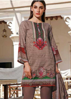 Jhalak by Ittehad Textiles Printed Lawn Unstitched 3 Piece Suit IT20J 1515 B - Spring / Summer Collection