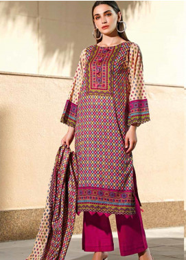 Jhalak by Ittehad Textiles Printed Lawn Unstitched 3 Piece Suit IT20J 1516 A - Spring / Summer Collection