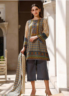 Jhalak by Ittehad Textiles Printed Lawn Unstitched 3 Piece Suit IT20J 1516 B - Spring / Summer Collection