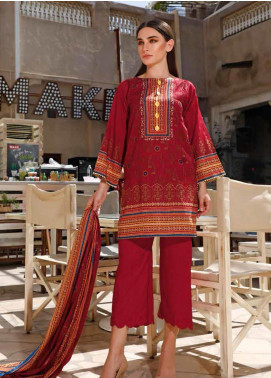 Jhalak by Ittehad Textiles Printed Lawn Unstitched 3 Piece Suit IT20J 1517 A - Spring / Summer Collection