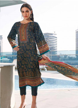 Jhalak by Ittehad Textiles Printed Lawn Unstitched 3 Piece Suit IT20J 1517 B - Spring / Summer Collection