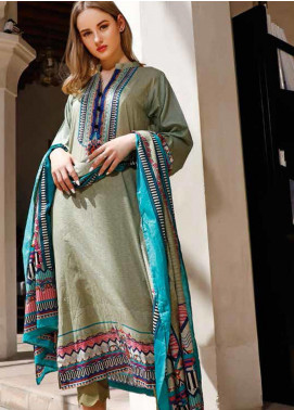 Jhalak by Ittehad Textiles Printed Lawn Unstitched 3 Piece Suit IT20J 1518 A - Spring / Summer Collection