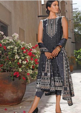 Jhalak by Ittehad Textiles Printed Lawn Unstitched 3 Piece Suit IT20J 1520 B - Spring / Summer Collection