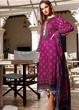 Jhalak by Ittehad Textiles Printed Lawn Unstitched 3 Piece Suit IT20J 1521 A - Spring / Summer Collection