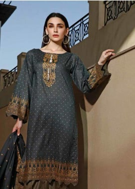 Jhalak by Ittehad Textiles Printed Lawn Unstitched 3 Piece Suit IT20J 1522 B - Spring / Summer Collection