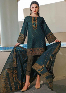 Jhalak by Ittehad Textiles Printed Lawn Unstitched 3 Piece Suit IT20J 1522 D - Spring / Summer Collection