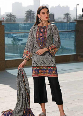 Jhalak by Ittehad Textiles Printed Lawn Unstitched 3 Piece Suit IT20J 1524 B - Spring / Summer Collection