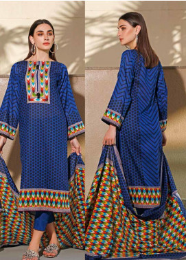 Jhalak by Ittehad Textiles Printed Lawn Unstitched 3 Piece Suit IT20J 1525 A - Spring / Summer Collection
