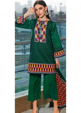Jhalak by Ittehad Textiles Printed Lawn Unstitched 3 Piece Suit IT20J 1525 B - Spring / Summer Collection